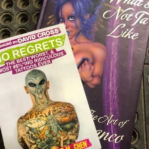 Other - 2 very unique tattoo books